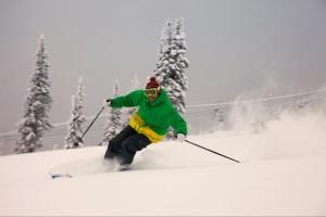 Pre season turns at Big White Ski Resort