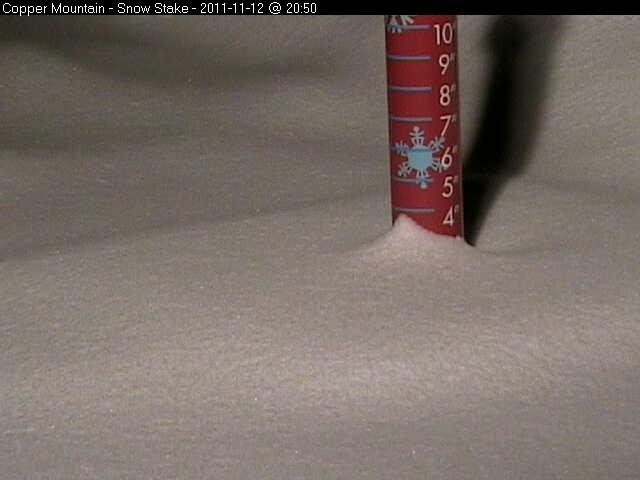 Copper Mountain Snow Stake