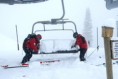 30 inches of snow fell on Jackson Hole recently