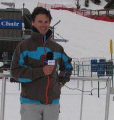Pete Kvist from Snow Report TV