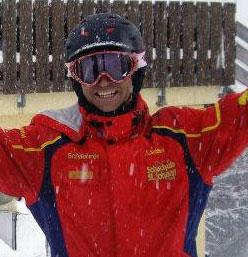 Snow Report TV host Geoff Havenaar