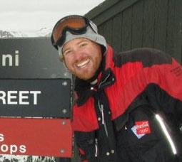 Snow Report TV Host Lars Thorn