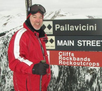 Snow Report TV Host Rodney Thorn