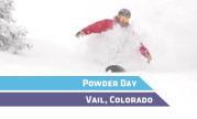Vail Powder Day