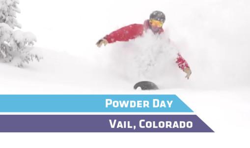 Vail Powder Day