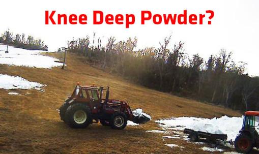 Knee Deep Powder?