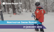 Northstar Snow Report - 31 Jan 2016