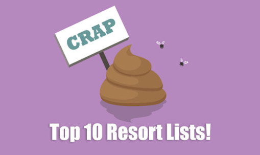 Top 10 Resort Lists