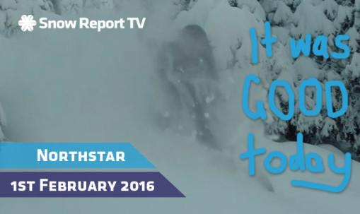 Northstar Snow Report - Feb 1st 2016