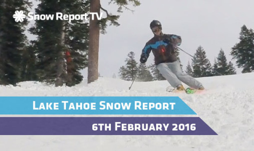 Truckee Snow Report - 6th February 2016