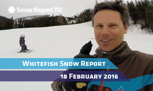 Whitefish Snow Report - February 18th 2016